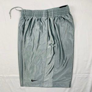 Nike silver lined basketball shorts